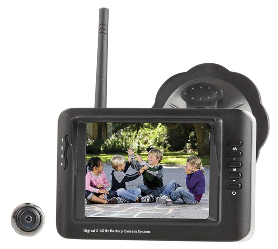 2.4GHz Digital Wireless Reversing Camera